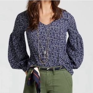 Cabi Style 5336 Love Long Sleeve Blouse Top